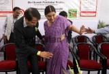 Railway Minister Suresh Prabhu Launches Railway Posters For Child Protection