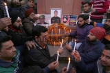 Protest Against Pathankot Terror Attack