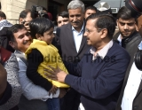Delhi Chief Minister Arvind Kejriwal Interacts With Parents On Nursery Admissions