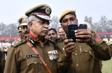 Farewell Of Outgoing Delhi Police Commissioner BS Bassi