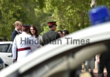 Prince William And Kate Middleton Visit India Gate