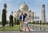 Prince William And Kate Middleton Visit Taj Mahal