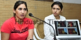 Press Conference Of Ashpal Kaur Bhogal,  Girlfriend Of Indian Hockey Captain Sardar Singh