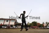 Army-Style Training At A Bajrang Dal Camp In Noida