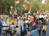 Congress Protest Against Auto Fuel Prices