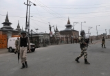 Kashmir Unrest: Curfew In Srinagar