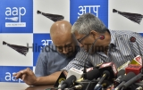 AAP Party Press Conference On Arrest Of Its MLAs