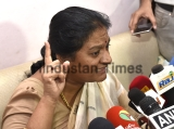 Press Conference Of Expelled Rajya Sabha MP Rajya Sabha MP From Tamil Nadu, Sasikala Pushpa
