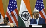 US Secretary Of State John Kerry Meets Indian External Affairs Minister Sushma Swaraj