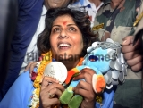 Rio Paralympics Silver Winner Deepa Malik Gets Grand Reception On Return