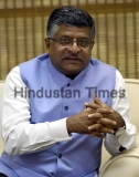 HT Exclusive: Profile Shoot Of Union Communications Minister Ravi Shankar Prasad