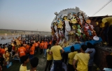Durga Puja Ends With Immersion Of Idols