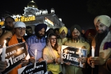Bollywood actor Soha Ali Khan Participates Candle March Demanding Justice For 1984 Sikhs Genocide