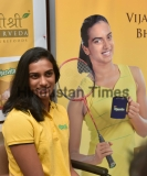 Olympic Silver Medallist PV Sindhu Launches A Health Drink From Shree Shree Ayurveda