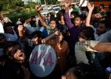 JNU Students Detained During Protest Outside Home Ministry