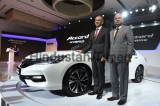 Launch Of Honda Accord Hybird Feather Car
