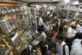 People Shopping On Dhanteras