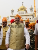 BJP President Amit Shah Pays Obeisance At Golden Temple