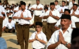 RSS Chief Mohan Bhagwat RSS Volunteers And BJP Workers In Jammu