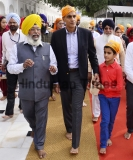 United States Ambassador To India Richard Verma Pays Obeisance At Golden Temple