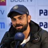 Press Conference Of Indian Team Captain Virat Kohli In Chandigarh