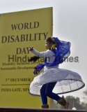 World Disabled Day Observed In India