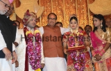 Madhya Pradesh Chief Minister Shivraj Singh Chouhan Blessed Daughter Of Slain Jail Head Warder Ramashankar Yadav On Her Marriage