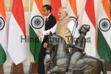 Meeting Of Indonesian President Joko Widodo And Prime Minister Narendra Modi