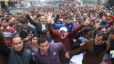 J&K Rehbar-E-Taleem Teachers Forum Protest Rally For Their Various Demands