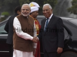 Ceremonial Reception Of Portugal Prime Minister Antonio Costa At Rashtrapati Bhavan