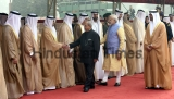 Ceremonial Reception Of Abu Dhabi Crown PrinceSheikh Mohammed Bin Zayed Al Nahyan At Rashtrapati Bhawan