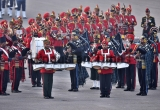 Rehearsal Of Beating Retreat Ceremony