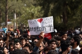 Ramjas Row: JNU, DU Left Students Unions Joint Protest March Against ABVP