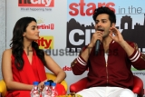 Starcast Of Movie Badrinath Ki Dulhania Visit HT House For Promotions