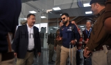 Indian Cricket Team Arrives At Dharamsala Airport