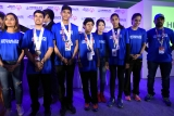 Felicitation Of Indian Athletes Returning From World Winter Games 2017