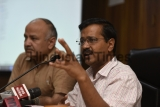 Press Conference Of Delhi Chief Minister Arvind Kejriwal