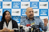 Press Conference Of Deputy Chief Minister Of Delhi Manish Sisodia