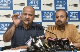 Press Conference Of AAP Party Regarding MCD Elections