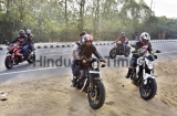 Bikers Trails On Gurgaon-Faridabad Expressway