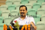 Delhi Chief Minister Arvind Kejriwal Interacts With Successful JEE Aspirants From Delhi Government Schools