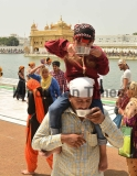 Sikh Devotees Pay Obeisance At Golden Temple On Martyrdom Day Of The Fifth Sikh Guru Arjun Dev Ji