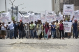 Noida's Sector 137 Residents Protest Against Open Garbage Dump Yard