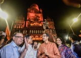 BMC Building Lights Up To Mark 124 Years