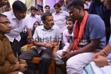 Delhi Chief Minister Arvind Kejriwal Meets Families Of Three Sanitation Employees Who Died While Cleaning A Gutter
