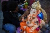 Preparation Of Ganeshotsav Festival