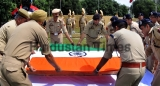 Wreath Laying Ceremony Of J&K Police Head Constable Krishan Chand In Jammu
