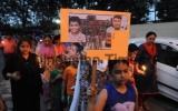 Candle March For Demand Of Justice For Ryan International School Student Pradhuman Thakur