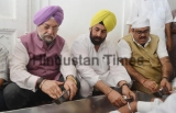 Union Housing and Urban Affairs Minister Hardeep Singh Puri Pays Obeisance At Golden Temple
