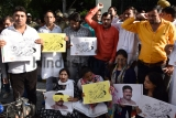 Indian Youth Congress Protest Against Fuel Price Hike